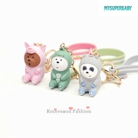 Keychains Shape We Bare Bears for Cosplay