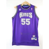 玉米潮流本舖 ADIDAS NBA 國王隊 Jason Williams 55號 復古 紫 青年版球衣