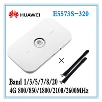 Unlocked Huawei E5573 E5573s-320 + 2pcs antenna Cat4 150mbps Wireless Mobile Mifi Wifi Router plus ANTENNA