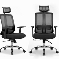Office Chairs Office Furniture mesh Computer Chair Chassis ergonomic swivel chair Lifting rotary