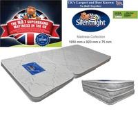 Silentnight Premium Quality Fabric Foldable Single Bed Mattress