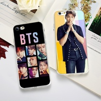 BTS Kpop Bangtan Boys Korean Fashion Phone Case for Iphone 5/5se/5s 6/6S Plus 7/7 Plus 8/8 Plus X SE XS XR XS MAX Soft TPU Silicon Phone Cases