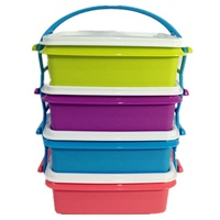 Tupperware LUNCH BOX Goody Box with Cariolier 1set TUPPERWARE NUMIT