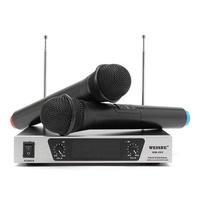 WEISRE WM-09V Professional VHF Karaoke Wireless Handheld Microphone System