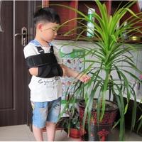 #熱銷#兒童透氣前臂吊帶骨折護具肩肘關節胳膊脫臼固定帶手臂石膏吊帶#