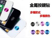 UNIPRO【A038】 iPhone 4 4S 5 5S 5C 按鍵貼 金屬 home 鍵貼 笑臉 方格 New iPad 2 3 4 air mini iPod