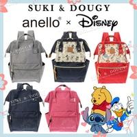 【SG DISTRIBUTOR】100% AUTHENTIC Disneyland anello x Disney BACKPACK 💕 luggage travel bag