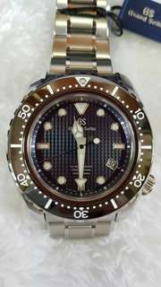 [SOLD OUT] Grand Seiko SBGH257 Hi-Beat 36000 Diver's 600M Limited Edition 500Pcs