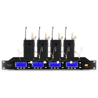 ERZhen 600GT UHF Wireless 4ch Handheld Microphone System for Speech Meeting