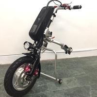ㄑ展示品出售 輪椅專用輔助動力車頭 三輪車 獨輪 外掛 電動輪椅