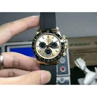 日本代購 Rolex  勞力士 現貨實拍 金色三眼熊貓 迪通拿系列
