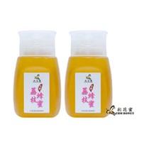 《彩花蜜》台灣嚴選-荔枝蜂蜜350g (專利擠壓瓶) 兩入組