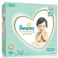 COSTCO PAMPERS 幫寶適一級幫紙尿褲M 號 248 片- 日本境內版