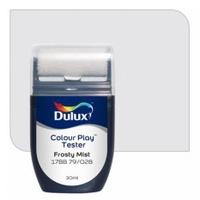 สีขนาดทดลอง Dulux Colour Play™ Tester - Frosty Mist 17BB 79/028