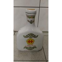 竹葉青酒 陶瓷空酒瓶 古董老物