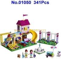 01050 341pcs Girls Heartlake City Playground Lepin Building Block Compatible 41325 Brick Toy