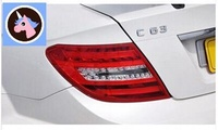 BC/W204 Mercedes Benz C class C180 C200 C260 C300 modified C63 word mark logo after the end of the s