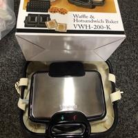 《哈利現貨不用等》日本東京購入 Vitatonio小v鬆餅機 VWH-200-K
