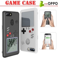 TPFIX Game Case For OPPO R15 Phone Cases Gameboy Tetris Cover For OPPO R11S R11 Plus R15 Dream Silic