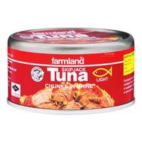 Farmland Skipjack Tuna - Chunks in Brine