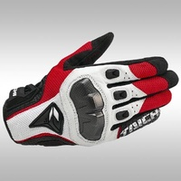LEECO RS Taichi RST391 Mens Perforated leather Motorcycle Mesh Gloves- M size - intl