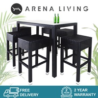 Sorona 6 Chair Bar Set | Outdoor Furniture | Balcony Chair | Bar Chair