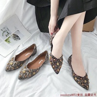 zara pointed flat shoes woman