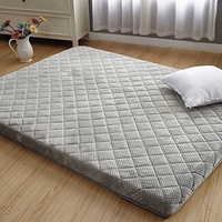 DULPLAY Foldable 7cm thickn Tatami Mattress Mattress Pads,Breathable Comfortable Solid Color Stud...