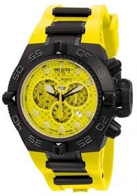 INVICTA-龍四系列-三眼計時腕錶