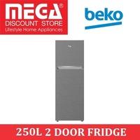 BEKO RDNT250150VZP 250L 2 DOOR FRIDGE / LOCAL WARRANTY