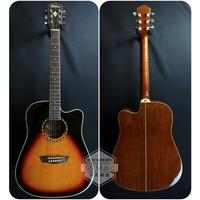 [全新公司貨] Washburn WD10CE-ATB 電木吉他 民謠吉他 41吋 缺角 D桶 夕陽漸層 升昇樂器