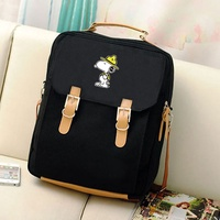 Free Shipping top fashion unisex backpack rucksack daypack Unisex SNOOPY Snoopy sweatshirt D pack Luc character cute lightweight outdoor casual commuting sweat of Kutatsu and was soft texture of the m