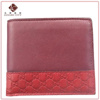 Gucci Men's Leather Wallet GUCCI-534563 (Red)