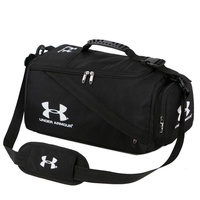 【Available】Under Armour_Gym Bag Travel Duffle Luggage Bag with Shoe Compartment Unisex Large Portable Waterproof Nylon Hand Carry Weekender Bag Women and Men Tote Bag