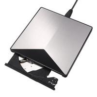 อลูมิเนียมอัลลอยด์ USB 3.0 ไดรฟ์ออปติคัลภายนอก CD DVD Player Burner