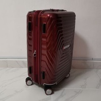 "💎Samsonite Astra Red Spinner 20"" 55cm Cabin Luggage with TSA Lock"