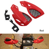 24 cm Dirt Bike ATV MX Motocross Motorcycle Hand Guards Handguards With Mount Kit Black Blue Red White