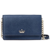 Kate Spade Cameron Street Shreya Crossbody Bag Handbag Twilight Navy Dark Blue # PWRU6014 + Gift Receipt