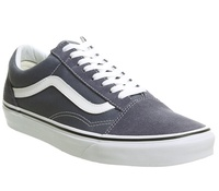 Vans 반스 Old Skool Trainers Grisaille White