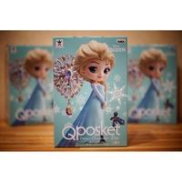 日本市場正規版 日本境內版 Qposket 冰雪奇緣 Frozen  Elsa 艾莎 淺色