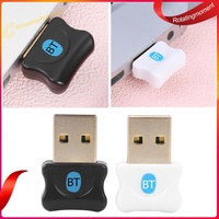 USB Bluetooth 5.0 Dongle Adapter Bluetooth Audio Receiver for Win 8 10