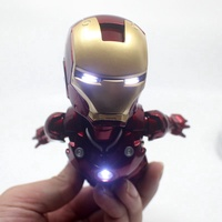 IRON MAN MK MAGNETIC FLOATING ver with LED Light  Action Figure Collection Toy