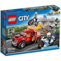 【MR W】LEGO 樂高 積木 CITY 城市系列 拖吊車追捕行動 60137