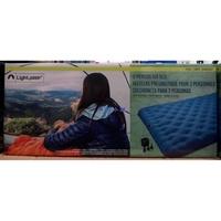 美兒小舖COSTCO好市多代購~LIGHTSPEED 雙人空氣床/充氣床-附電池幫浦(199x142x26cm)