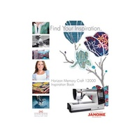 (Janome) Janome MC12000 Work Book-