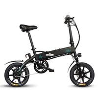 [EU Direct] FIIDO D1 36V 250W 10.4Ah 14 Inches Folding Moped Bicycle 25km/h Max 60KM Mileage Electric Bike