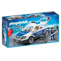 (卡司 正版現貨) Playmobil Special Plus 摩比人 警察車 附聲光效果 PM06920 摩比積木
