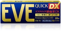 [日本正品直郵] EVE QUICK DX 20錠 / 40 錠 止痛 / 頭痛 / 生理痛藥