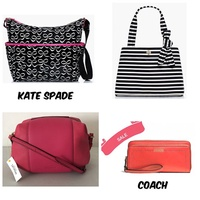 [COACH KATE SPADE SATURDAY]READY STOCK SALE LANYARD WALLET WRISTLET BAG TOTE COACH