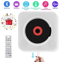 CD Player with Bluetooth - Portable CD player-01 Wall Mountable, Remote Control, FM Radio HiFi Speak
